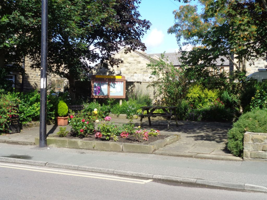 Village garden at Upper Cumberworth
